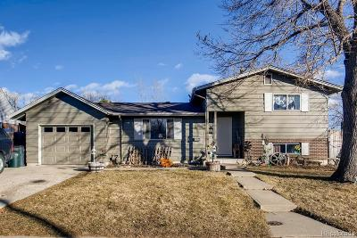 Arvada Single Family Home Under Contract: 6740 Quay Street
