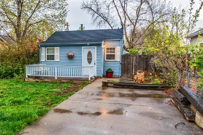 Arvada Single Family Home Under Contract: 5614 Ammons Street