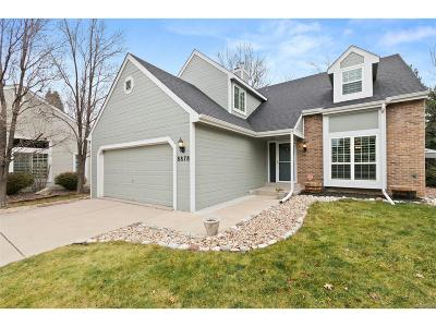 Highlands Ranch Single Family Home Under Contract: 8878 Cactus Flower Way