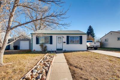 Denver Single Family Home Active: 2640 South Hooker Street