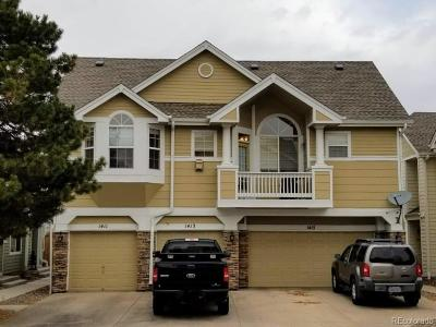 Highlands Ranch Condo/Townhouse Under Contract: 1411 Carlyle Park Circle