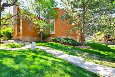 Aurora Condo/Townhouse Under Contract: 4271 South Salida Way #3