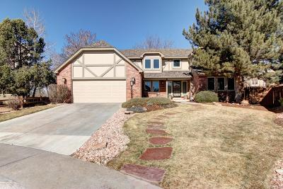 Centennial Single Family Home Under Contract: 16537 East Berry Lane