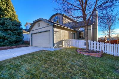 Highlands Ranch Single Family Home Under Contract: 598 Longfellow Lane