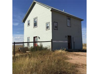 Peyton Single Family Home Active: 16080 Falcon Highway