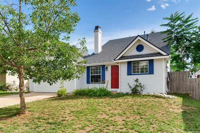 Aurora Single Family Home Active: 17626 East Temple Drive