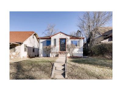 Denver Single Family Home Active: 1160 South Ogden Street #1 & 2