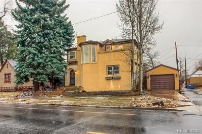 Denver Single Family Home Active: 1630 East Virginia Avenue