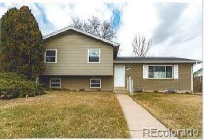 Northglenn Single Family Home Active: 11755 Keough Drive