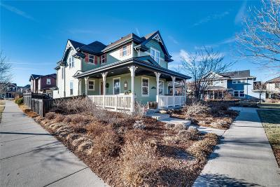 Denver Single Family Home Active: 8398 East 23rd Avenue