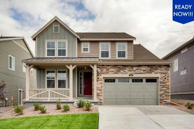 Castle Pines Single Family Home Active: 162 Back Nine Drive