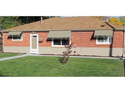 Thornton Single Family Home Active: 9250 Harris Street
