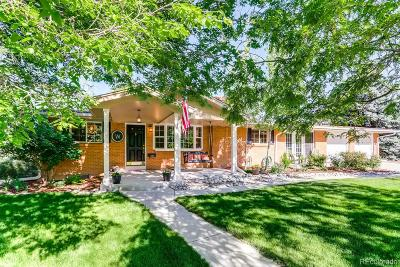 Littleton Single Family Home Under Contract: 6167 South Elati Court