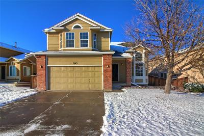 Highlands Ranch Single Family Home Under Contract: 5145 Weeping Willow Circle