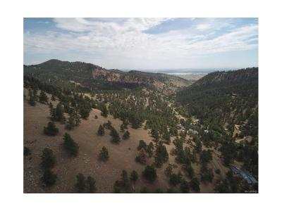 Boulder Residential Lots & Land Active: 1485 Wagonwheel Gap Road