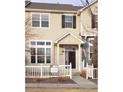 Castle Rock Condo/Townhouse Under Contract: 1522 Chimney Peak Drive