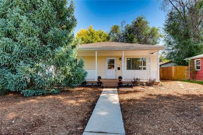 Longmont Single Family Home Under Contract: 1326 Gay Street