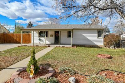 Westminster Single Family Home Under Contract: 8855 Hooker Way