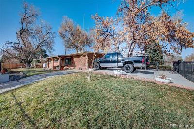 Denver Single Family Home Active: 2635 West Florida Avenue