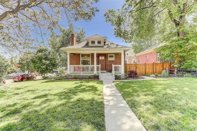 Single Family Home Active: 2740 Federal Boulevard