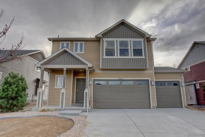 Commerce City Single Family Home Under Contract: 10459 Worchester Drive