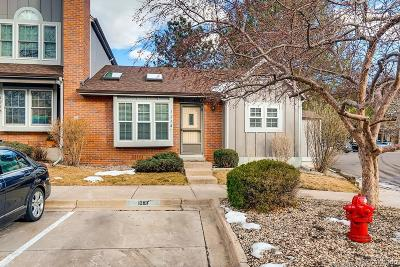 Lakewood Condo/Townhouse Under Contract: 1218 South Flower Circle #F