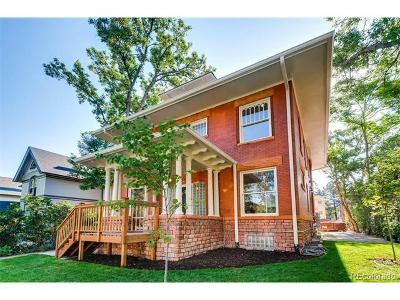 Denver Condo/Townhouse Active: 1344 North Gaylord Street