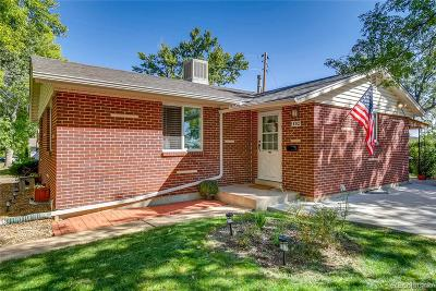 Lakewood Single Family Home Active: 1692 South Ammons Street