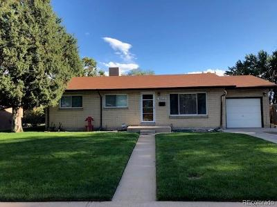 Denver Single Family Home Active: 3822 West Greenwood Place