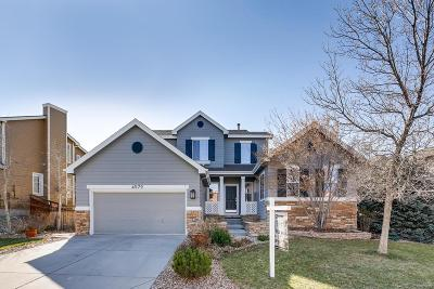 Castle Rock Single Family Home Active: 4579 Trailside Loop