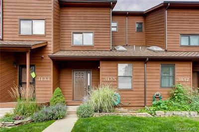 Boulder Condo/Townhouse Active: 3135 Bell Drive