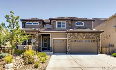 Castle Rock Single Family Home Active: 1476 Candleglow Street