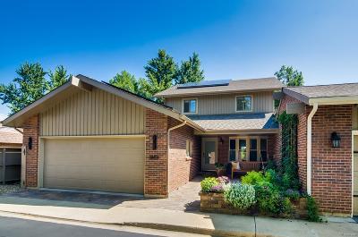 Boulder Condo/Townhouse Under Contract: 4864 Briar Ridge Court