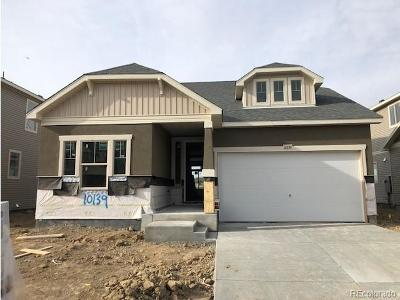 Commerce City Single Family Home Active: 10139 Yampa Street