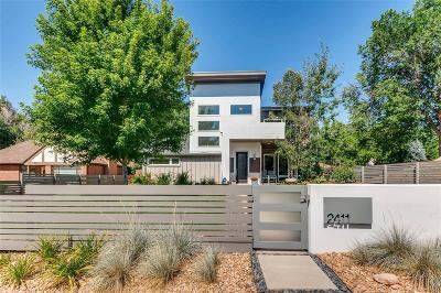 Denver Single Family Home Under Contract: 2411 Quitman Street