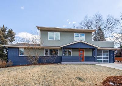 Boulder Single Family Home Active: 1110 Edinboro Drive