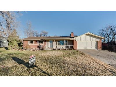 Wheat Ridge Single Family Home Under Contract: 10015 West 29th Avenue