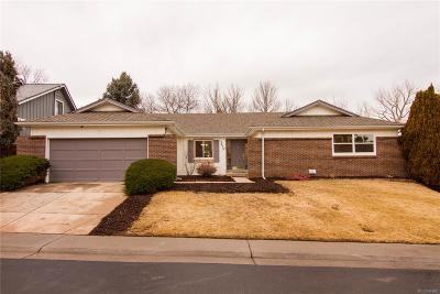 Arapahoe County Single Family Home Under Contract: 5629 South Lansing Way