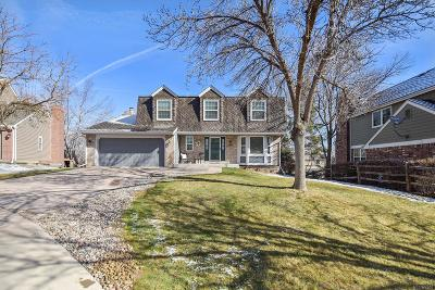Littleton Single Family Home Under Contract: 9877 West Berry Drive