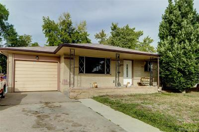 Denver Single Family Home Active: 1213 South Clay Street