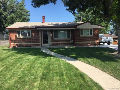 Denver Single Family Home Active: 1476 South Beach Court