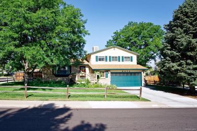 Littleton Single Family Home Active: 6473 South Hoyt Court