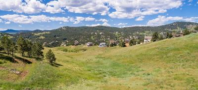 Golden Residential Lots & Land Active: 435 Mt. Evans Vista Road