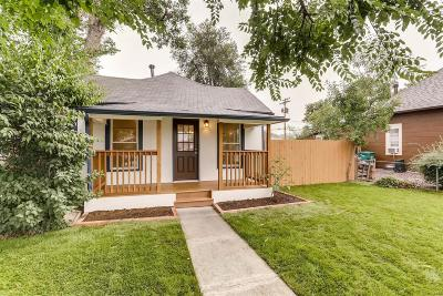 Englewood Single Family Home Active: 2826 South Acoma Street