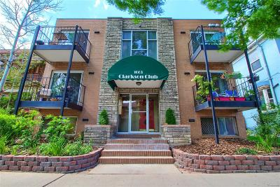 Denver Condo/Townhouse Active: 1063 Clarkson Street #4