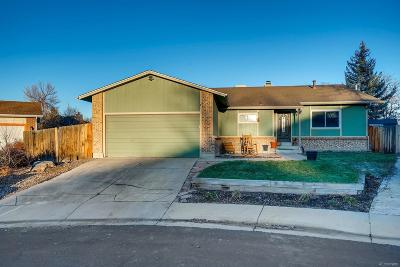 Broomfield Single Family Home Under Contract: 3401 Baron Court