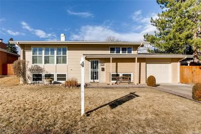 Littleton Single Family Home Under Contract: 5453 West Canyon Trail