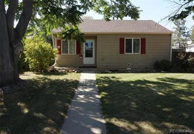 Aurora CO Single Family Home Active: $259,500