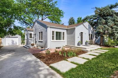 Colorado Springs Single Family Home Active: 2110 North Royer Street