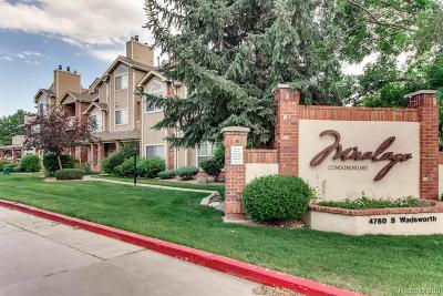 Littleton Condo/Townhouse Under Contract: 4760 South Wadsworth Boulevard #A202